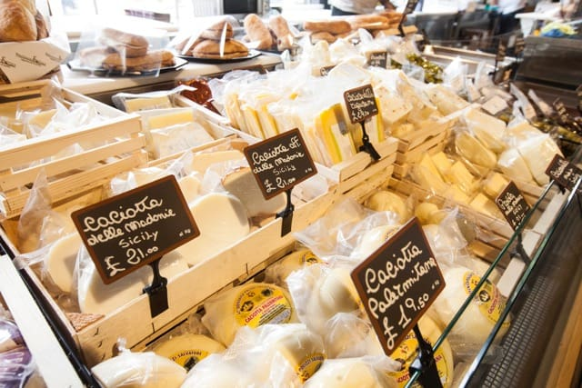 Cheese fest at Mercato