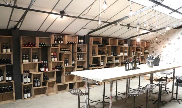 Inside the wine room, more bottles and vintages arrive regularly