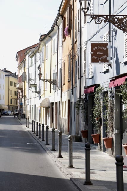 Parma has an attractive city centre, full of history and great places to eat